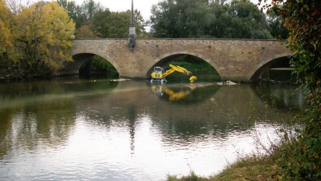 Koengen Kolksicherung an Ulrichsbrücke