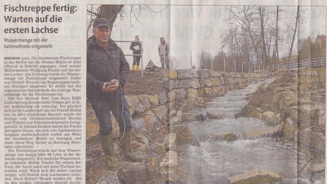 Beutke & Fränzel - Fischtreppe - Vaihinger Kreiszeitung