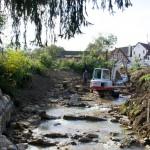 Waldstetten Langenbach - Umsetzung Riegelrampe - Beutke-&-Fränzel-Gewaesserbau